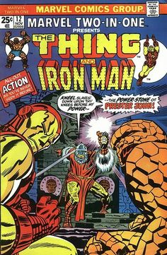 Marvel Two-In-One #12 (1974 series) - cover by Jack Kirby