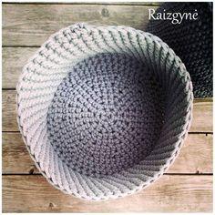 Handmade basket.