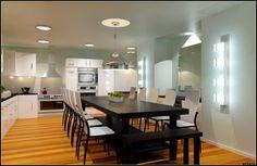 Kitchen Design by TVL Creative via arcbazar.com