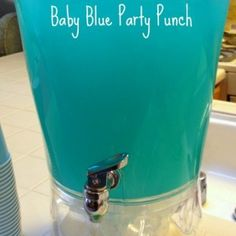 Day 291: Pretty Pink Punch & Baby Blue Punch | 365ish Days of Pinterest