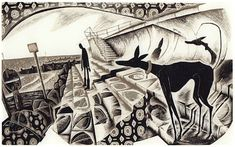 'Taking the Sea Air' wood engraving by Neil Bousfield 195 x 120 mm Artwork Images, Wood Engraving, Printmaking, Digital Prints, Illustration Art, Gallery, Artist, Greyhounds, Whippets