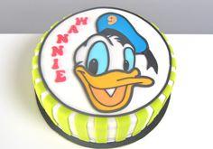 Donald Duck taart
