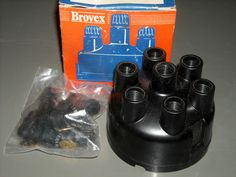 Vintage Brovex Distributor Cap in Box New - Austin Healey? See Pic for Part #BX $19.99