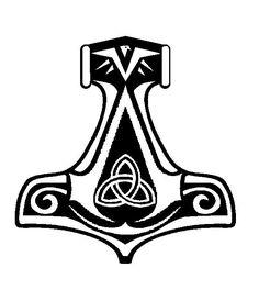 Assassin's Creed Norwegian Thor's Hammer Insignia by Morder-Productions.deviantart.com on @deviantART