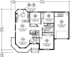 Plan 80360PM: Country Victorian Home Plan