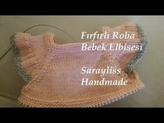Knit Baby Dress, Knitted Baby Clothes, Crochet Videos, Try It Free, Baby Sweaters, Baby Knitting, Projects To Try, Cross Stitch, Crochet Hats