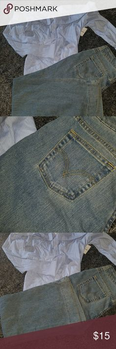 Levi Denim Trousers boot cut jeans Levi Denim Trousers  wide boot cut jeans Levi's Jeans Boot Cut