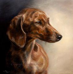 Natuur en Dierenkunst door Marjolein Kruijt: dierportretten (pet portraits)
