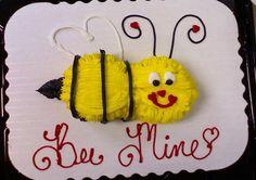 Cupcake bee