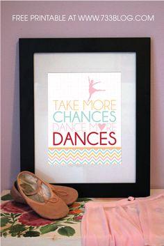 seven thirty three - - - a creative blog: Dance Teacher Gift Idea (Free Printable)