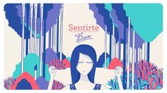"""Development of graphic package for a series issued by elGormet.com. """"Sentirse Bien"""" is a series about Wellnes and Lifestyle."""