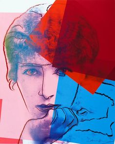 Sarah Bernhardt by Andy Warhol from his series Ten Portraits of Jews of the - The Independent
