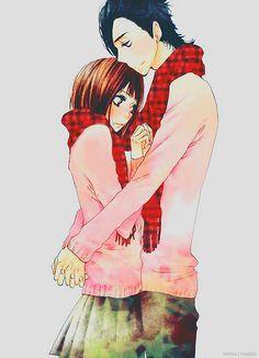 "Mei Tachibana and Yamato Kurosawa - Say ""I Love You""/Sukitte Ii Na Yo.                              Mei is 5'1 and Yamato is 6'0"