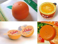 It's only half an orange!