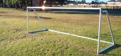 I would love to get one of these for my backyard. My kids love playing soccer; a goal post would provide them endless hours of entertainment. I wonder how much that would cost. With summer here, I definitely need ways to keep them entertained.