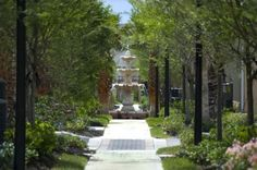 Estates at Heathbrook Landscaping wtih Fountains