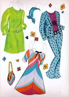 Terri and Tonya paper dolls #5 / free-paper-dolls.com
