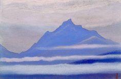 Н.К. Рерих. Гималаи (Волны тумана). 1943
