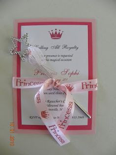 DG Invites: Princess Birthday Party Invitations