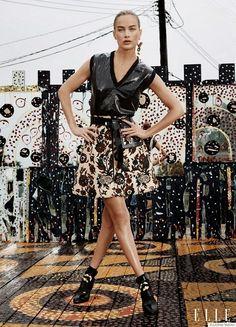 Fantasy Fashion Design: Carolyn Murphy  aparece en la edición de septiembr...