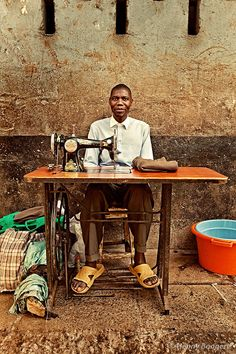 Photograph Great African Tailor by Henny Boogert on 500px