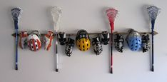 Sticks Up LOVES this handy Lacrosse Gear Organizer! Sign up for a Sticks Up LAX tournament today at www.sticksuplax.com