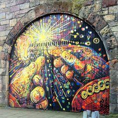 #scottishgraffiti #edinburghstreetart #legalgraffiti #edinburgh #scotland #graffiti #streetart
