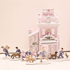 64 Best My Pink Christmas Houses Lemax Dept 56 Images On