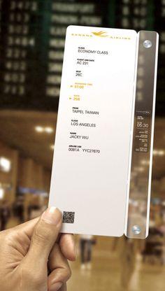 awesome ticket design    Designer: Jacky Wu, Neo Chen & Eric Liu