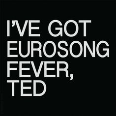 Nothing like a bit of Father Ted to help prepare for Eurovision tomorrow