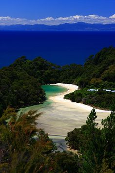 Abel Tasman National Park, New Zealand one of the most beautiful restful parks, lovely walk for all levels, stunning scenery Places Around The World, The Places Youll Go, Places To See, Dream Vacations, Vacation Spots, Beautiful World, Beautiful Places, Amazing Places, Beautiful Pictures