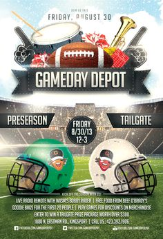 tailgating flyer - Google Search