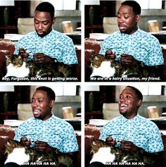 "When he had this conversation with Ferguson. | 23 Times Winston Bishop Was The Most Lovable Weirdo On ""New Girl"""