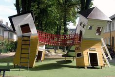 WE LOVE PLAYGROUNDS! Design: Monstrum. Featured in our current edition.