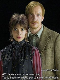 Nymphadora Tonks Remus Lupin- I wish my husband was into dressing up cause this would make an awesome couples costume Harry Potter Jk Rowling, Hp Harry Potter, Mundo Harry Potter, James Potter, Evanna Lynch, Luna Lovegood, Hermione, Hogwarts, Slytherin