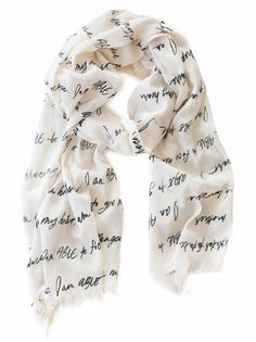 The ABLE Scarf from Erin Loechner & fashionABLE