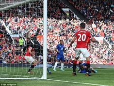 David de Gea pulls off a remarkable save during last season, when he was comfortably United's best player