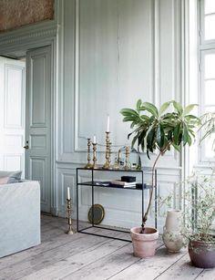 Богемная квартира в скандинавском стиле
