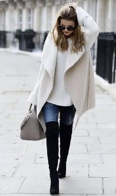 Winter fashion outfits, stylish winter outfits, winter outfits for wo Stylish Winter Outfits, Winter Fashion Casual, Casual Winter Outfits, Fall Outfits, Autumn Fashion, Outfit Winter, Winter Style, Winter Wear, Outfits 2016