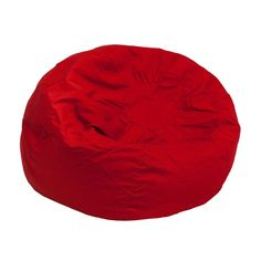 Flash Furniture Oversized Solid Red Bean Bag Chair DG BEAN LARGE SOLID