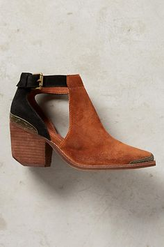 Jeffrey Campbell Woodruff Cutout Ankle Booties - anthropologie.com