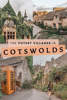 The ultimate bucket list of the cutest villages to visit in Cotswolds Cotswolds England UK UnitedKingdom Travel FairytalePlaces Europe Travel Tips, European Travel, Travel Guides, Places To Travel, Travel Destinations, Travel Goals, Travel Hacks, Travel City, Europe Packing