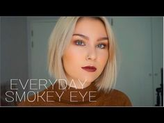 Hello everyone! Today I created a smokey eye that is suitable for everyday or the evening if it is too heavy for you. I absolutely love this palette, but I f...