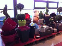 Rien de tel pour aménager un balcon ou une terrasse que des pots et bacs à fleurs ! De toutes formes et toutes couleurs ! A voir dans nos boutiques physiques (Lille/Lesquin, Nantes/Thouaré, Château-Gaillard)