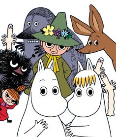 All things moomin. Little My Moomin, Les Moomins, Yule, Moomin Valley, Tove Jansson, Children's Book Illustration, A Comics, Fairy Tales, Childhood