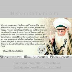 As-Sayyidi #ShaykhHishamKabbani!