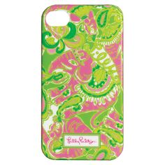 Lilly Pulitzer iPhone 4 Case - Chin Chin