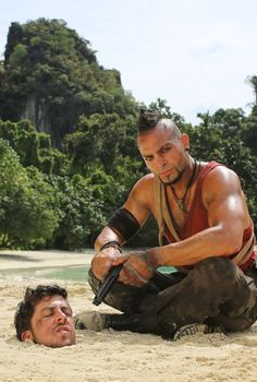 Vaas Montenegro. Played by the actor Michael Mando... sexiest villan ever