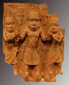 Benin plaque de laiton cour royal (2)