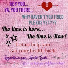 Let's get your health back!!
